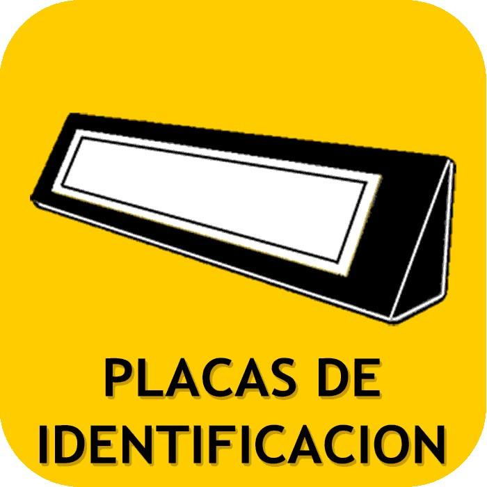 Placas identificación
